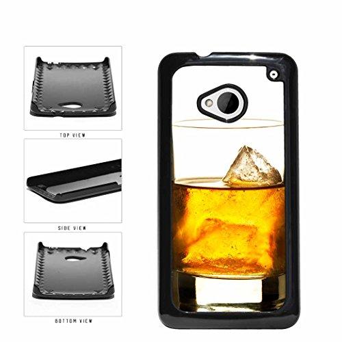 Glass Of Half Full Of Whiskey Plastic Phone Case Back Cov...