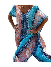Walant Womens Chiffon Robe Beach Dress Swimsuit Bathing Suits Bikini Cover-ups