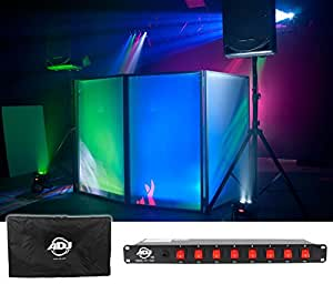 package american dj event facade white scrim light weight metal frame booth with. Black Bedroom Furniture Sets. Home Design Ideas