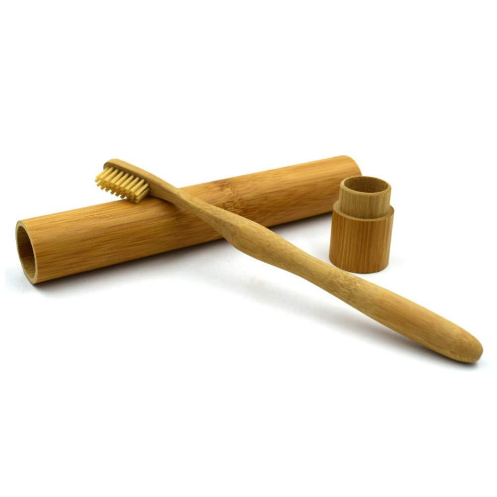 Amazon Com Yeahibaby Travel Bamboo Toothbrush Kit