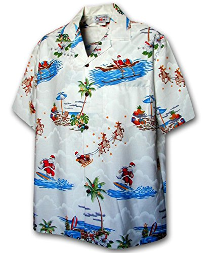 Christmas Santa Claus Hawaiian Shirt