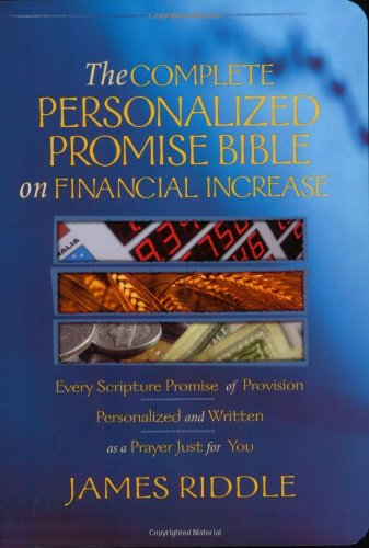 The Complete Personalized Promise Bible on Financial Increase - 1