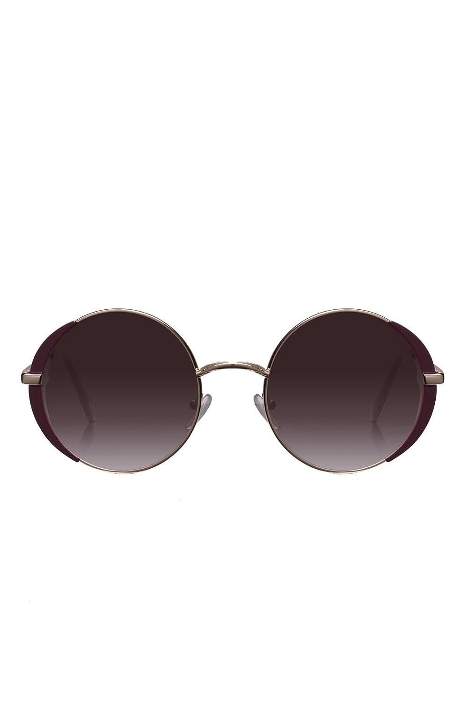 6467c3f236 PERVERSE sunglasses Florance Round Sunglasses (Gold
