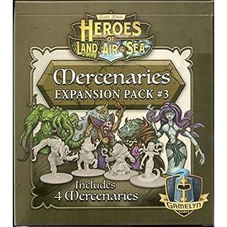 Heroes of Land, Air & Sea - Mercenary Pack 3