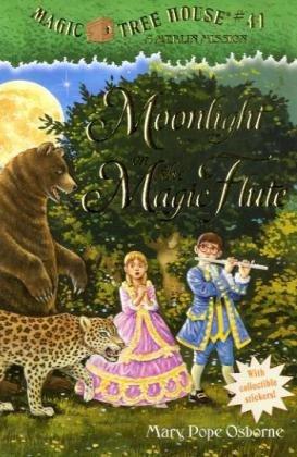 "Moonlight on the Magic Flute (Magic Tree House, #41) - Book #13 of the Magic Tree House ""Merlin Missions"""