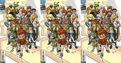 Ninja High School #175 (1986-1987, 1994-2009) Limited Series APE Entertainment Comics - 3 Comics