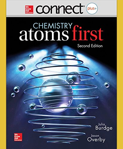 Combo  Connect Access Card Chemistry With Learnsmart 1 Semester Access Card For Chemistry   Atoms First  With Aleks For General Chemistry Access Card 1 Semester  Connect Plus With Learn Smart