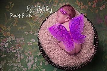 Baby Butterfly Wings Newborn Butterfly Wings Baby Girl Butterfly Wings Newborn Photo Prop Baby Shower Gift Butterfly Wings And Headband Set