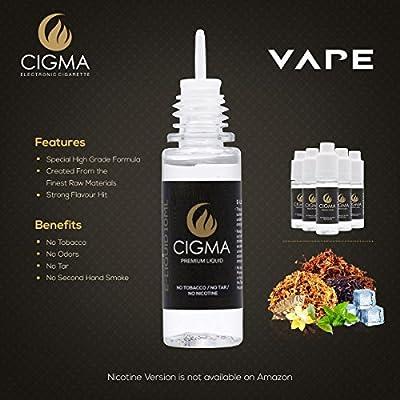 CIGMA 5 x 10 ml E-líquido Mezcla de sabor de tabaco - Tabaco ...