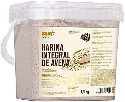 Best Protein HARINA DE AVENA INTEGRAL - neutro - 1,9kg: Amazon.es ...