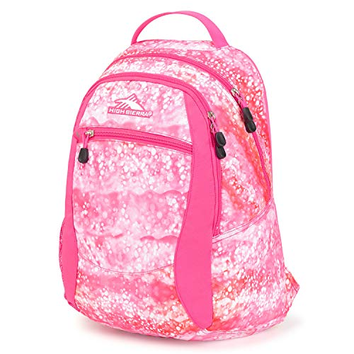 High Sierra Curve Lightweight and Compact Student Backpack - Stylish Bookbag or Lunch Backpack for Children
