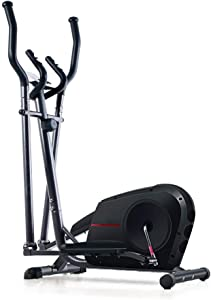 JKGLD Elliptical Machine for Home Elliptical Cross Trainer Exercise Bike-Fitness Cardio Weightloss Workout Machine-with Seat for Home Fitness Exercise Machine (Color : Black, Size : Free Size)