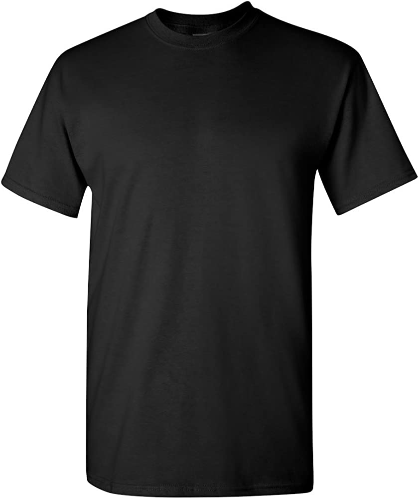 3857d323d Gildan 5.3oz Heavy Cotton Short Sleeve T-Shirt - Black 5000 S at ...