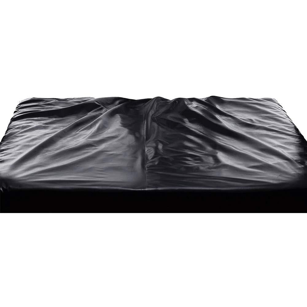 CozyFeel PVC Bed Sheet for Wet Games, King Size Waterproof Bedding Set J103