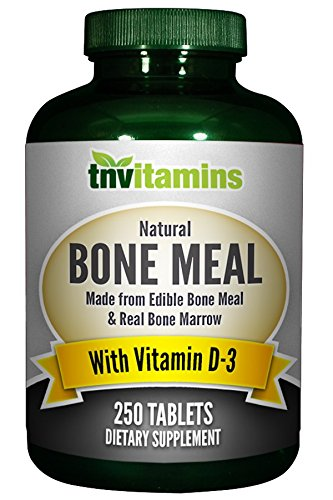 Cheap TNVitamins Bone Meal with Vitamin D – 250 Tablets
