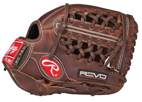 Trapeze Modified Web (Rawlings Revo 750 Series 11.5-inch Modified Trap-Eze Web Infield Baseball Glove, Right-Hand Throw (7SC115PCD))