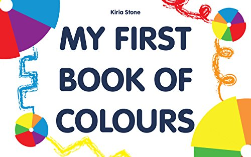my book of colours baby book early learning baby memory