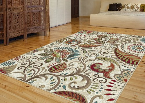 Universal Rugs Transitional Floral Ivory product image
