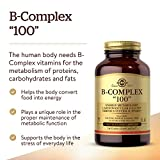 """Solgar B-Complex """"100"""", 100 Vegetable Capsules"""