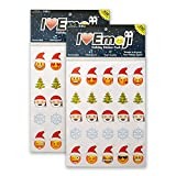 4 pics one word answer letters - Everything Emoji Holiday Stickers | 460 Stickers | Santa, Snowflakes, Poo, Faces | Stocking Stuffers