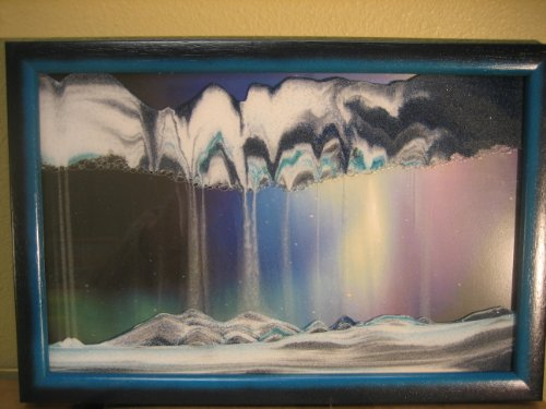 Rainbow Vision Sand Picture By Klaus Bosch Small Size
