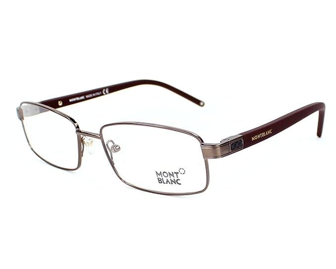 f4d24c7299 Gafas graduadas MONT BLANC MB0341 036: Amazon.es: Ropa y accesorios