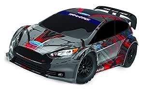 TraxxasFord Fiesta ST RC Rally Car RC Car,Black