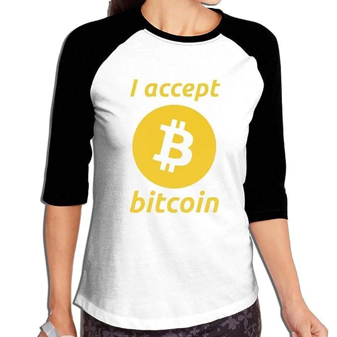Comprar camiseta FHddg Womens I Accept Bitcoin