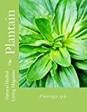 img - for Plantain: Plantago spp. (Natural Herbal Living Magazine Book 8) book / textbook / text book