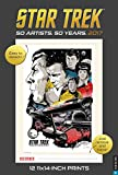 Star Trek 2017 Poster Calendar: 50 Artists. 50 Years.