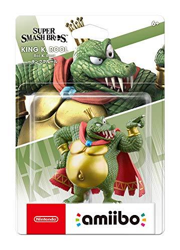 51 SAuQDRGL - Nintendo amiibo - King K. Rool - Super Smash Bros. Series - Nintendo Wii;GameCube;