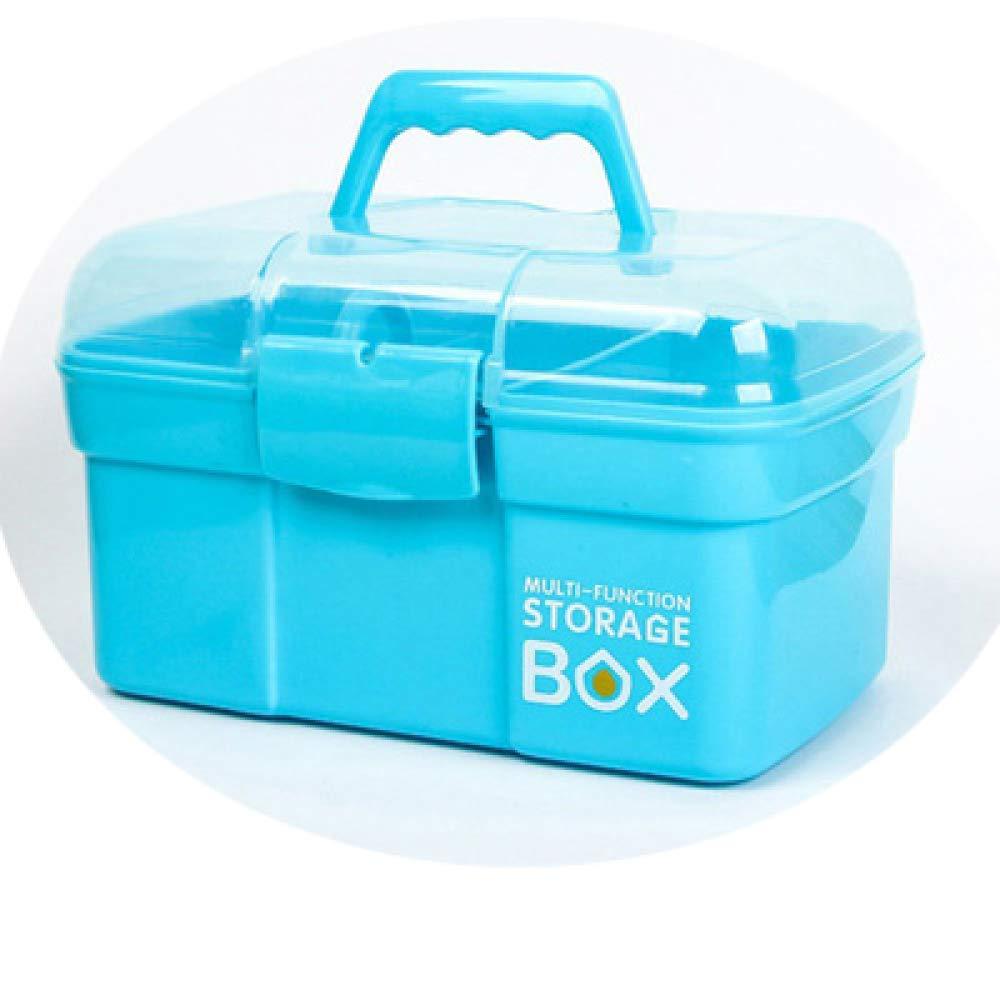 box Grande Scatola di Medicina Portatile per Uso Domestico a più Strati, Scatola di Conservazione per Medicinali