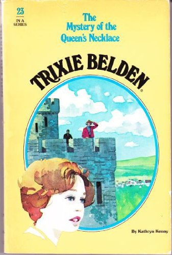 TRIXIE BELDEN #29 MYSTERY OF THE VELVET GOWN by Kathryn Kenny 1980