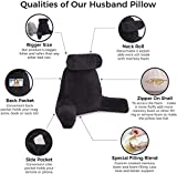 Husband Pillow - Big Backrest Reading Bed Rest