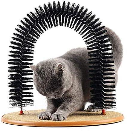 Queta Masajeador de Mascotas Arco de Gato Auto Groomer Masajeador ...