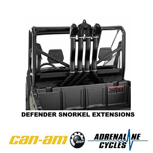 Can Am Defender HD8 HD10 snorkel extensions kit OEM NEW #715004415
