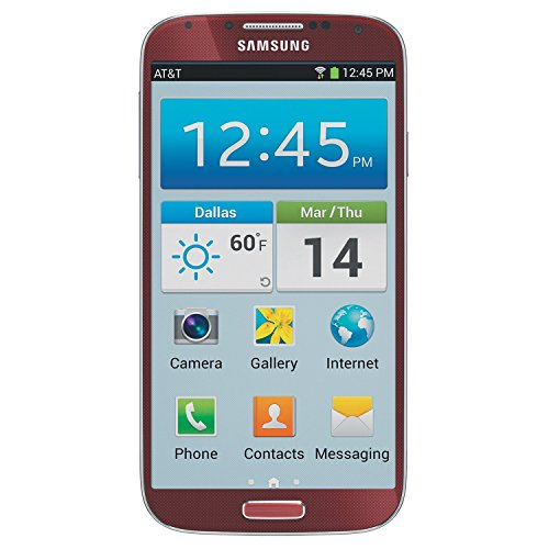 Samsung Galaxy S4 SGH-i337 4G Cell Phone, 16GB, Red, AT&T