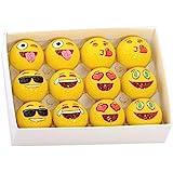 Kangaroo Emoji Universe: 2-Ply Professional Practice Golf Balls, 12 Emoji Balls