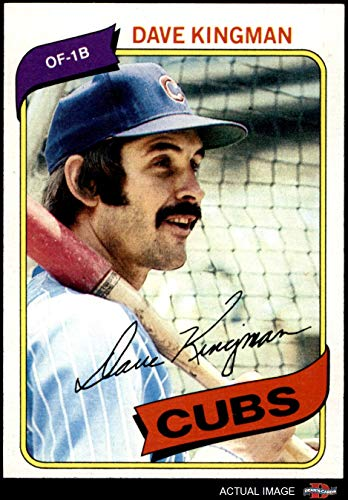 - 1980 Topps # 240 Dave Kingman Chicago Cubs (Baseball Card) Dean's Cards 8 - NM/MT Cubs