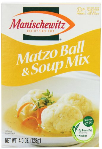 Matzo Ball and Soup Mix, 4.5 oz (Pack of 3) (Vegetarian Soup Mix)