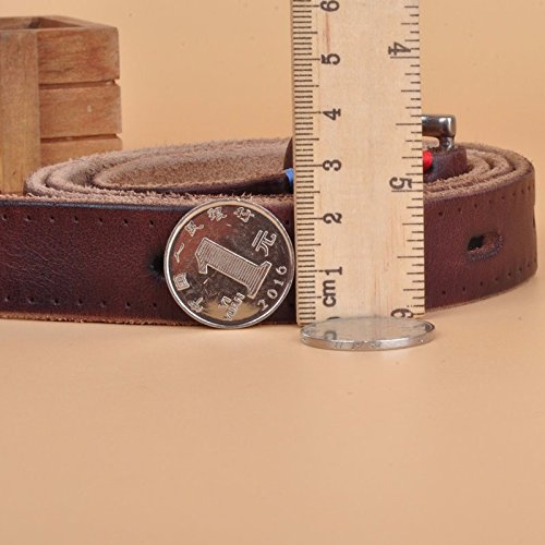 Nuevo XINQING-PD Cinturón Correa de cuero de moda mujer cinturón cinturón  vaquero mujer retro b5da854b513e