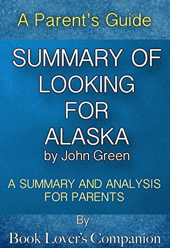 Analysis of john greens looking for alaska