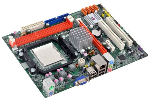 (ECS Elitegroup AM3 AMD 760G Micro ATX AMD DDR3 1800 Motherboard A780LM-M2)