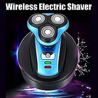 Hombre afeitadora eléctrica, y.f.m. Auto Wireless carga 4d ...