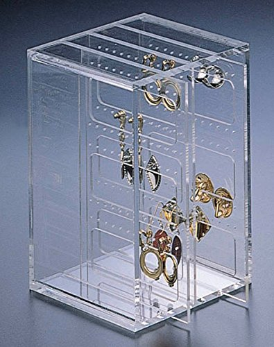 Huang Acrylic Small Earring File Box Clear Buy Online