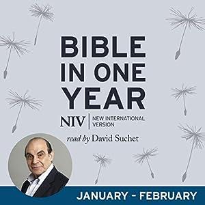 NIV Audio Bible in One Year (Jan-Feb) Audiobook