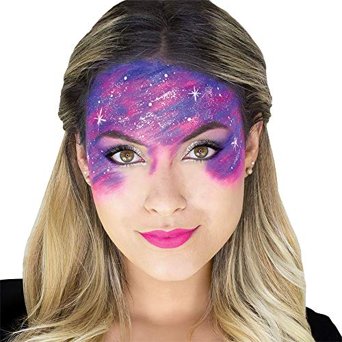 Woochie Water Activated Makeup Kit - Professional Quality Halloween and Costume Makeup - Galactic]()