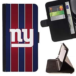 Momo Phone Case / Flip Funda de Cuero Case Cover - Nueva York;;;;;;;; - Apple Iphone 6 PLUS 5.5