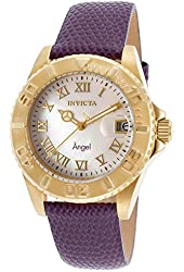 Invicta Women's 18409 Angel Analog Display Swiss Quartz Purple Watch