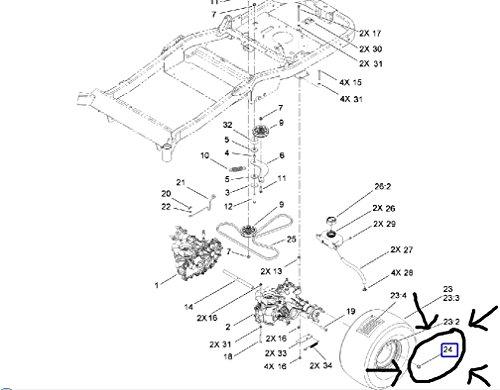 toro lawn mower parts list